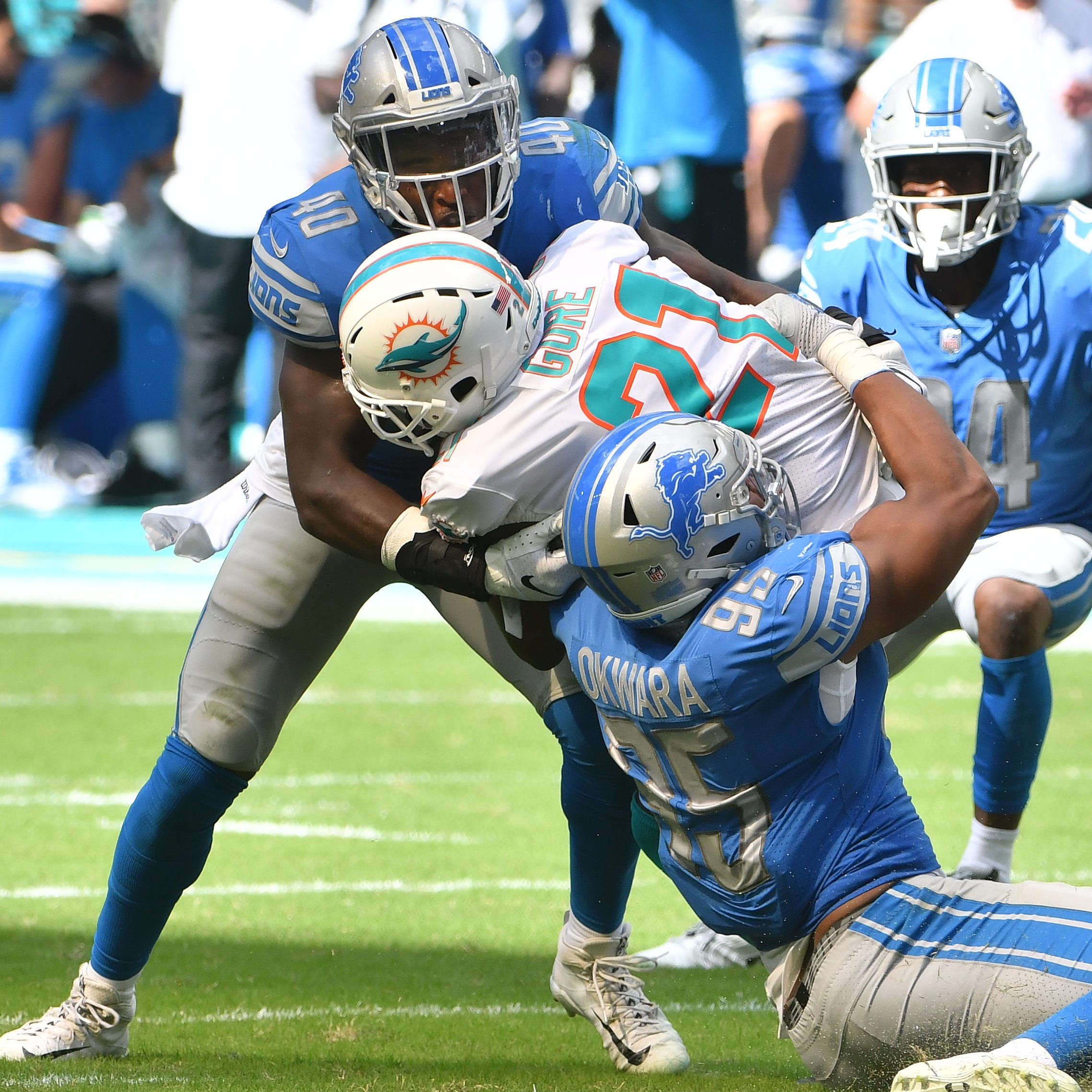 Four Downs: Lions see gains from their offseason pain