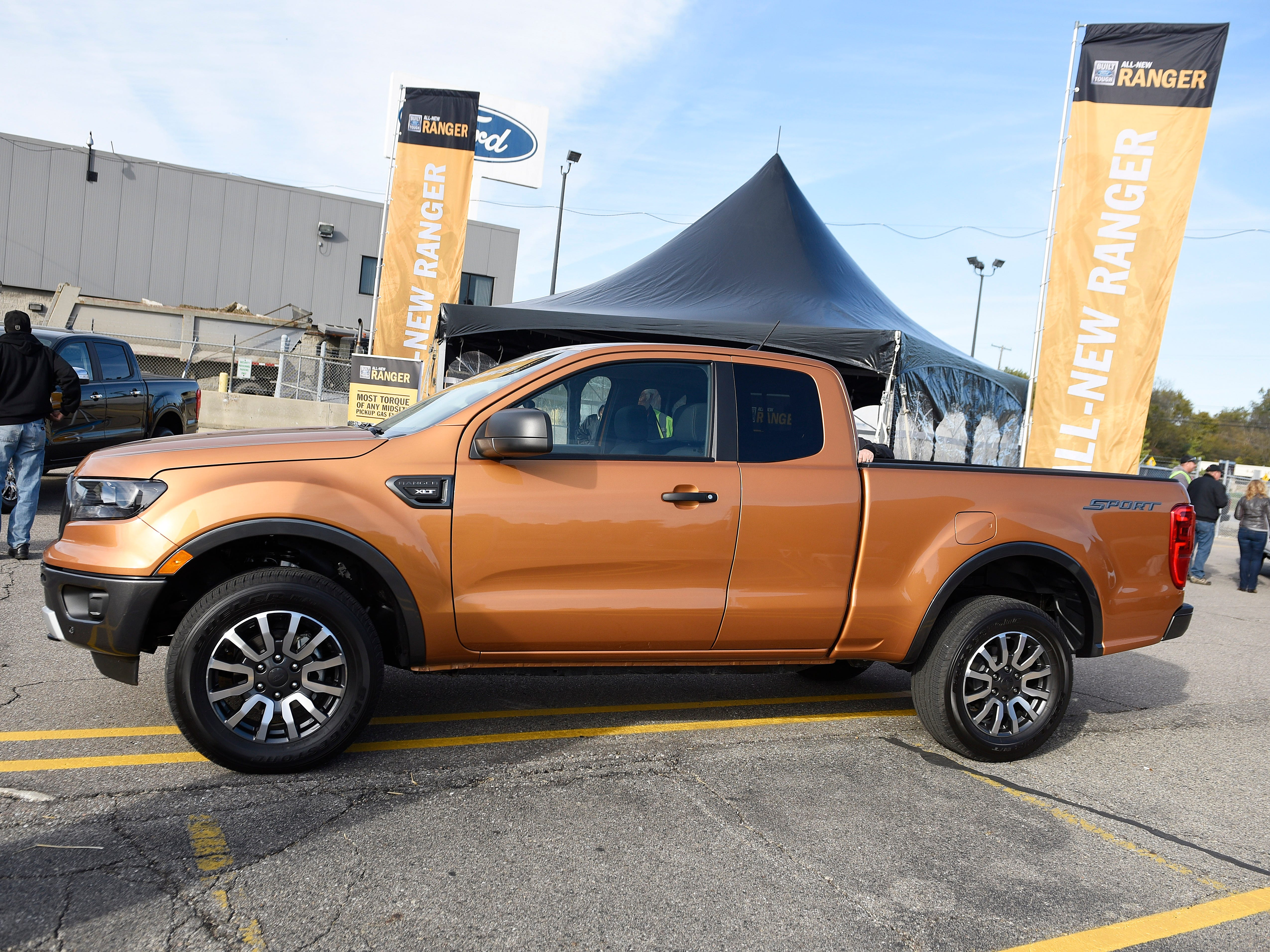 """""""This Ranger has been launched around the world and it's doing really well,"""" said Joe Hinrichs, Ford president of global markets.  """"We know there's a lot of interest."""""""