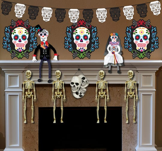 A Day of the Dead Decorating Kit sells for $32.99 .