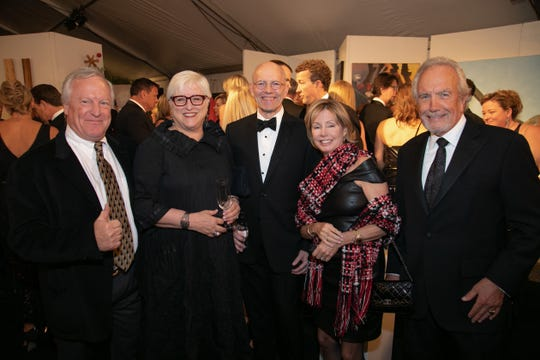 Tom Thornton, from left, Brenda Mixson, Rick Rogers, Liz Hardy and Tom Kienbaum