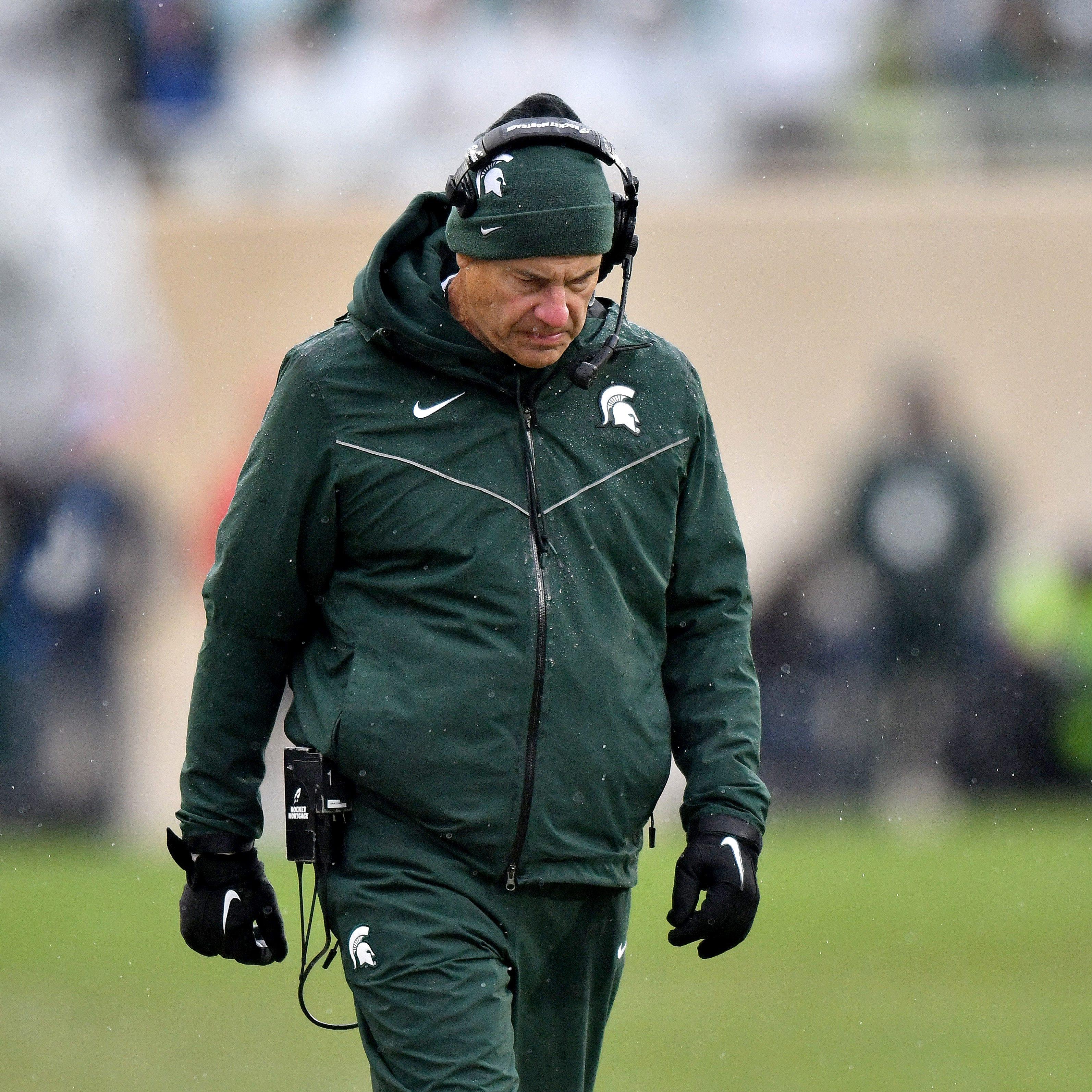 MSU's Mark Dantonio looks past 'juvenile' pregame incident, ahead to Purdue