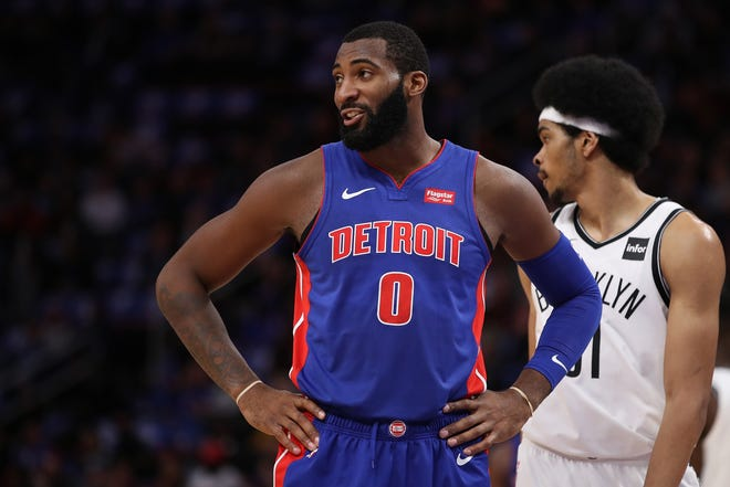 Pistons center Andre Drummond missed practice Monday with the flu.