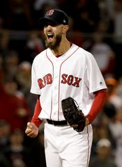 Former Tigers pitcher Rick Porcello has won 17 games this season for the Boston Red Sox, and won the AL Cy Young Award in 2016.