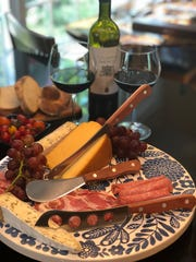 The 3-Piece Plum Charcuterie & Cheese Set (suggested retail price $99.99) includes a 5-inch soft-cheese knife, a 5-inch sausage knife and a 4-inch pâté knife,