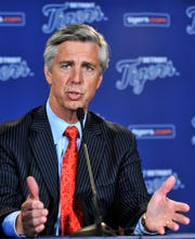 David Dombrowski, president of baseball operations for the Boston Red Sox, worked in the Tigers' front office from 2002 to 2015.