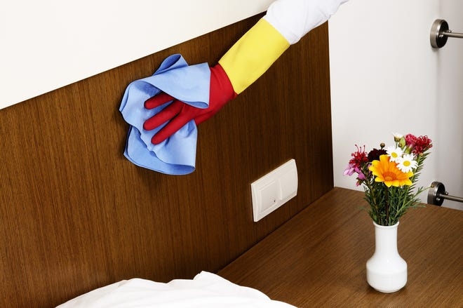 Focusing on guest bedrooms and surfaces makes a big difference in quickly preparing your home for company. (Dreamstime)