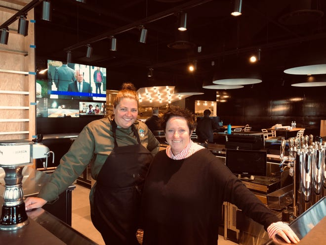 Chef Emmele Herrold, left, and Beth Hussey will open their new Birmingham restaurant Monday.