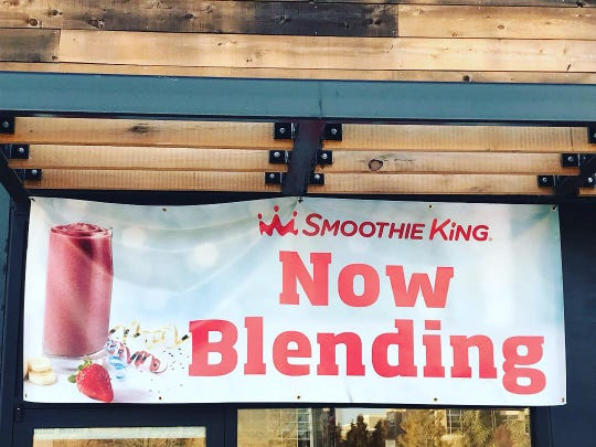 Smoothie King opened Saturday in Fort Collins at 2860 E. Harmony Road.