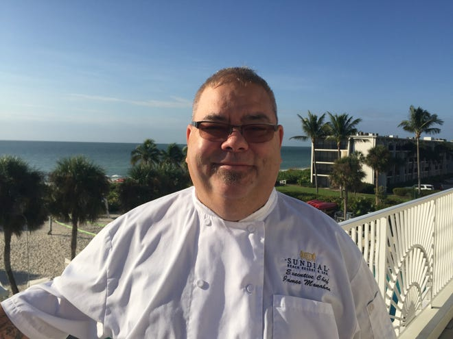 James Monahan is the executive chef for  the Sundial Beach Resort & Spa on Sanibel.