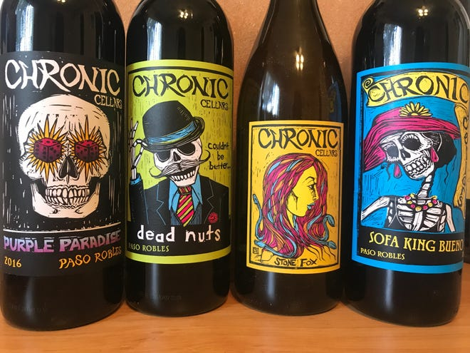 Chronic Cellars crafts a lineup of colorful, Halloween friendly wines.