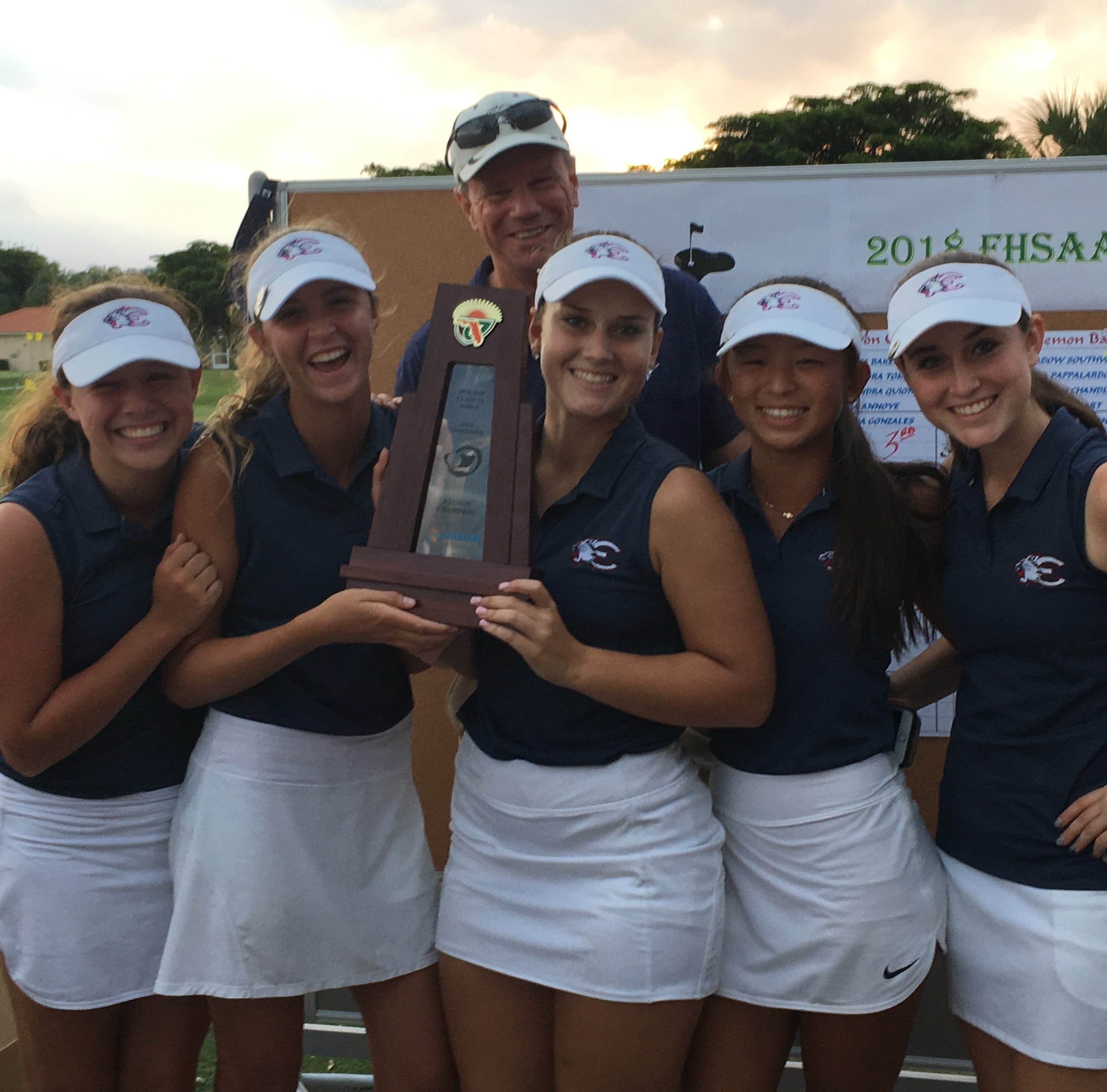 Golf Roundup: Estero girls nab regional crown, Bishop Verot girls make state