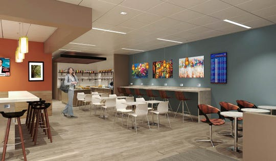 Rick Erwin Dining Group is designing the menu for the new Escape Lounge at GSP.
