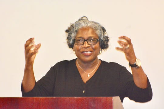 The Rev. Julia Golden, associate pastor at Long Branch Baptist Church.