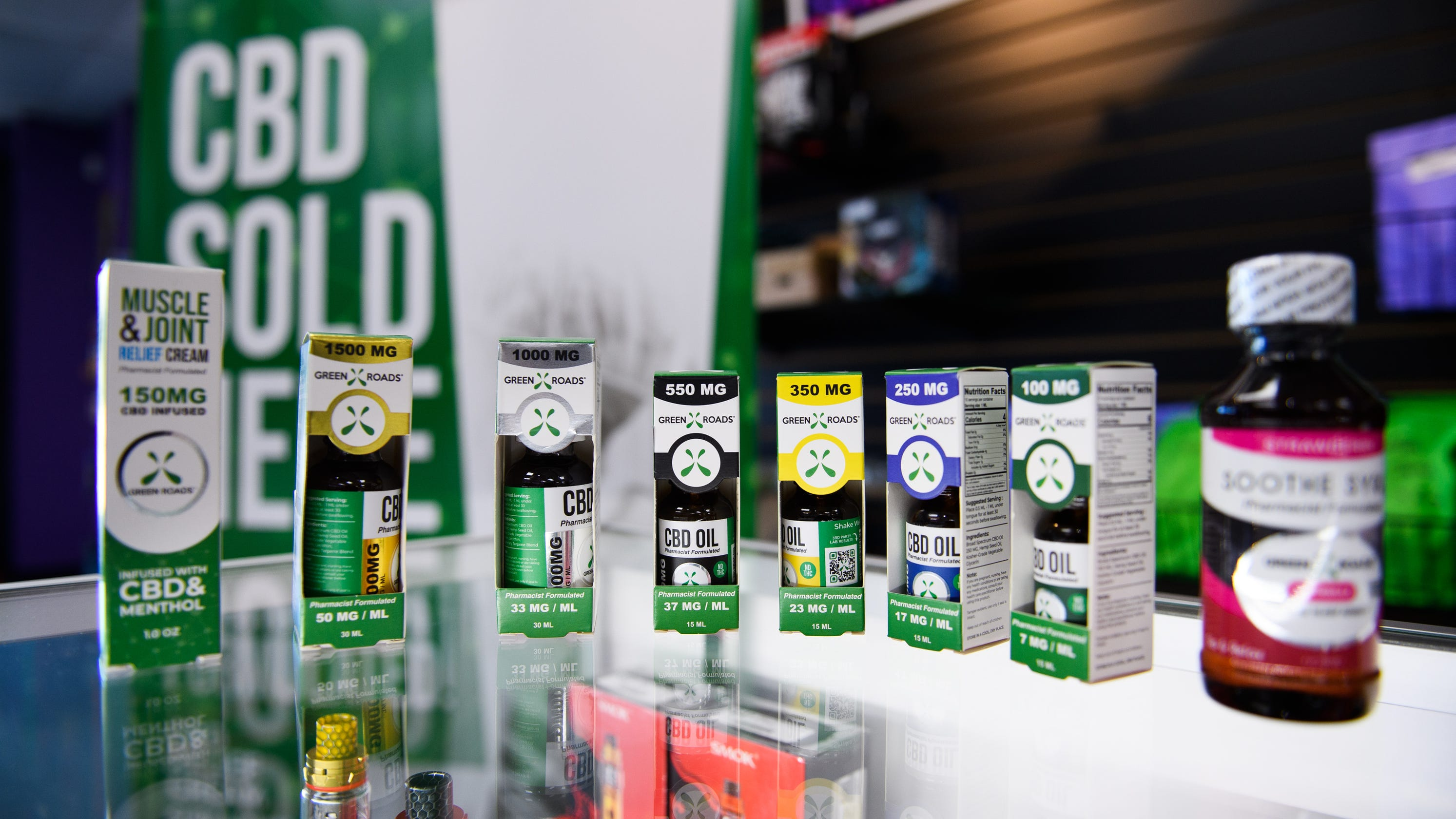 CBD in Greenville: Where to buy and why new stores are