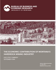 September 2018 study on hard-rocking mining in Montana