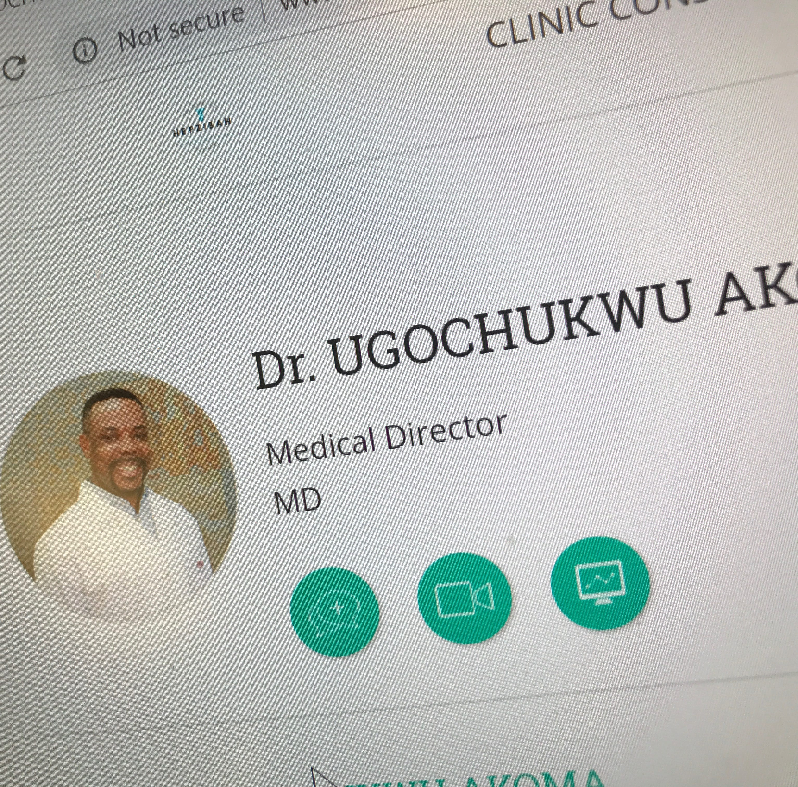 Dr. Ugochukwu Akoma, accused of sexual harassment, practicing on Guam