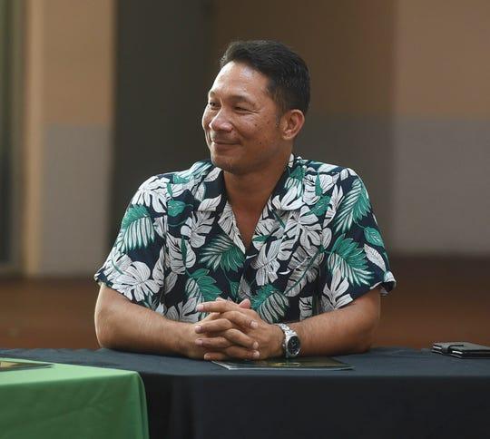 Tony Babauta resigned as Gov. Lou Leon Guerrero's Chief of Staff.