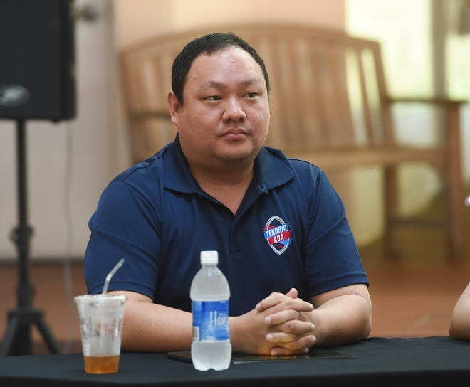 Dong Choe is shown during the 2018 Gubernatorial Great Debate at the University of Guam in this Daily News file photo from October 2018.