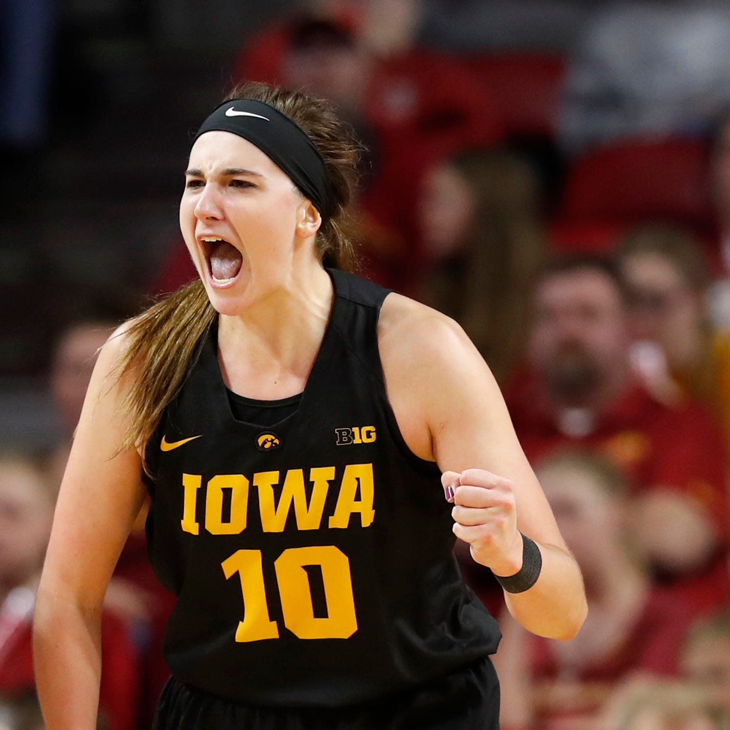 Iowa women's basketball: Megan Gustafson named preseason POY; Hawkeyes picked second in Big Ten poll