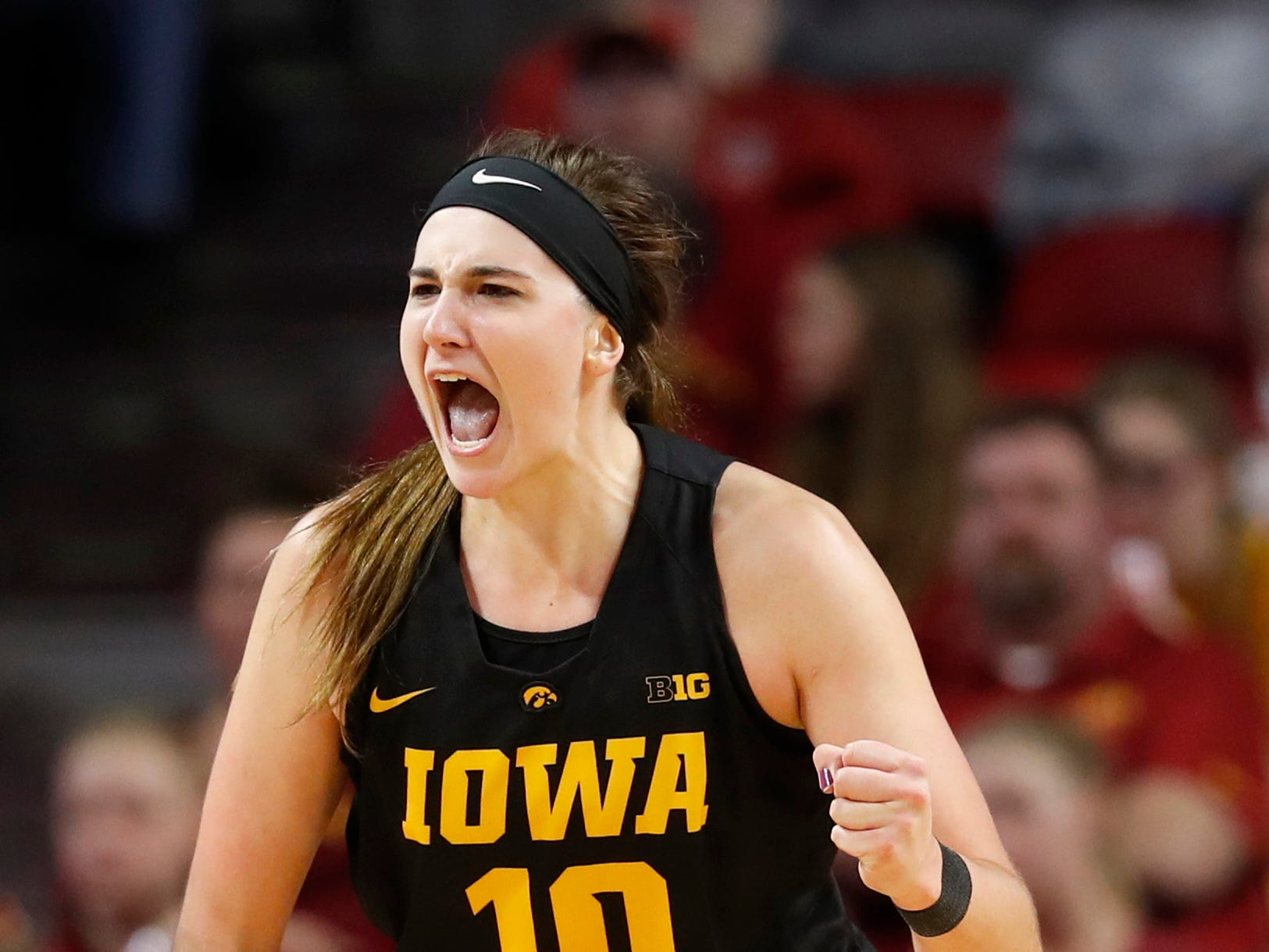 After a stellar junior year, Megan Gustafson was named the Big Ten preseason player of the year Monday. The Hawkeyes were also picked second in the preseason poll.