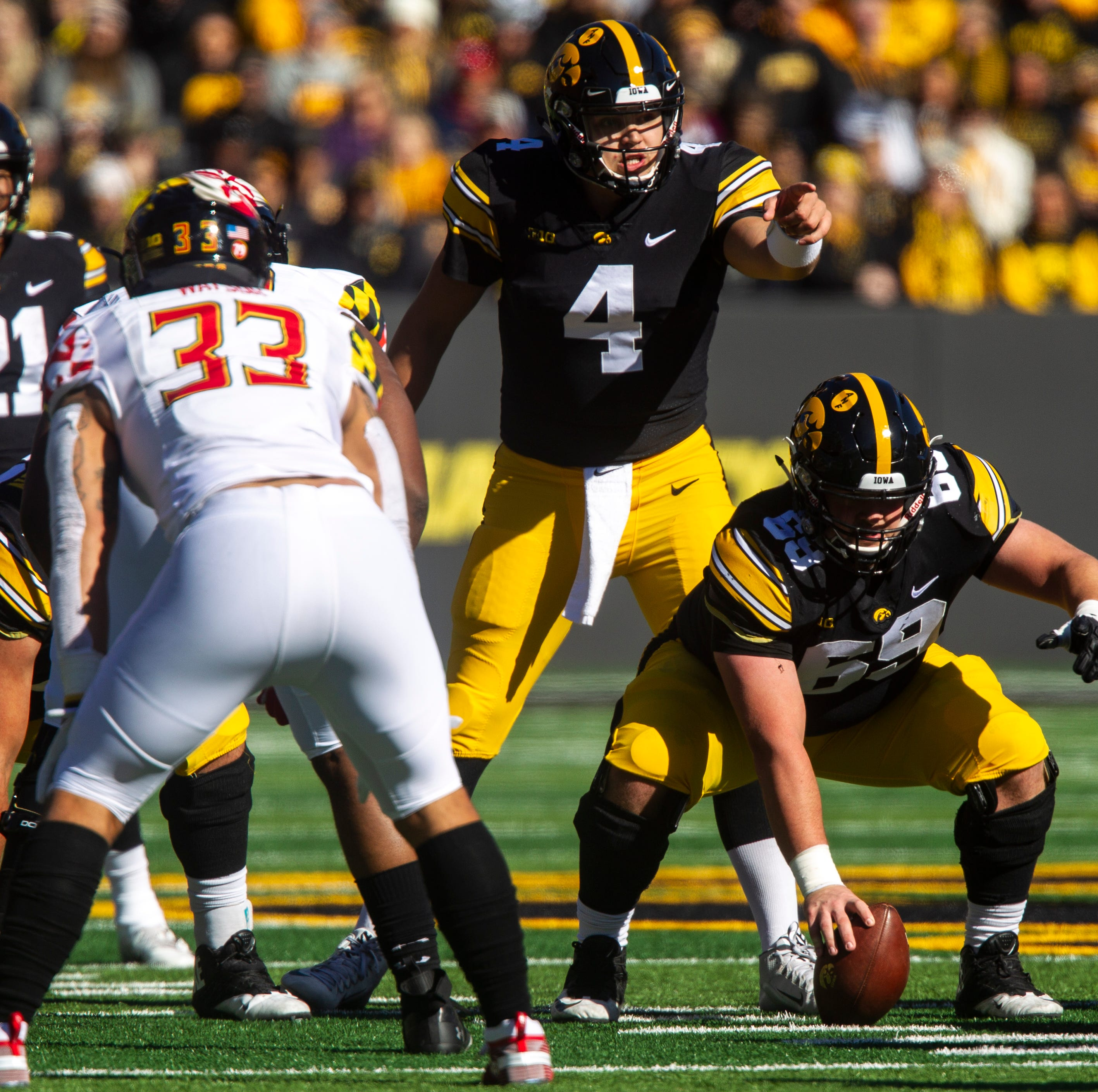 Leistikow's first thoughts: No shortage of motivation for Hawkeyes on Penn State week
