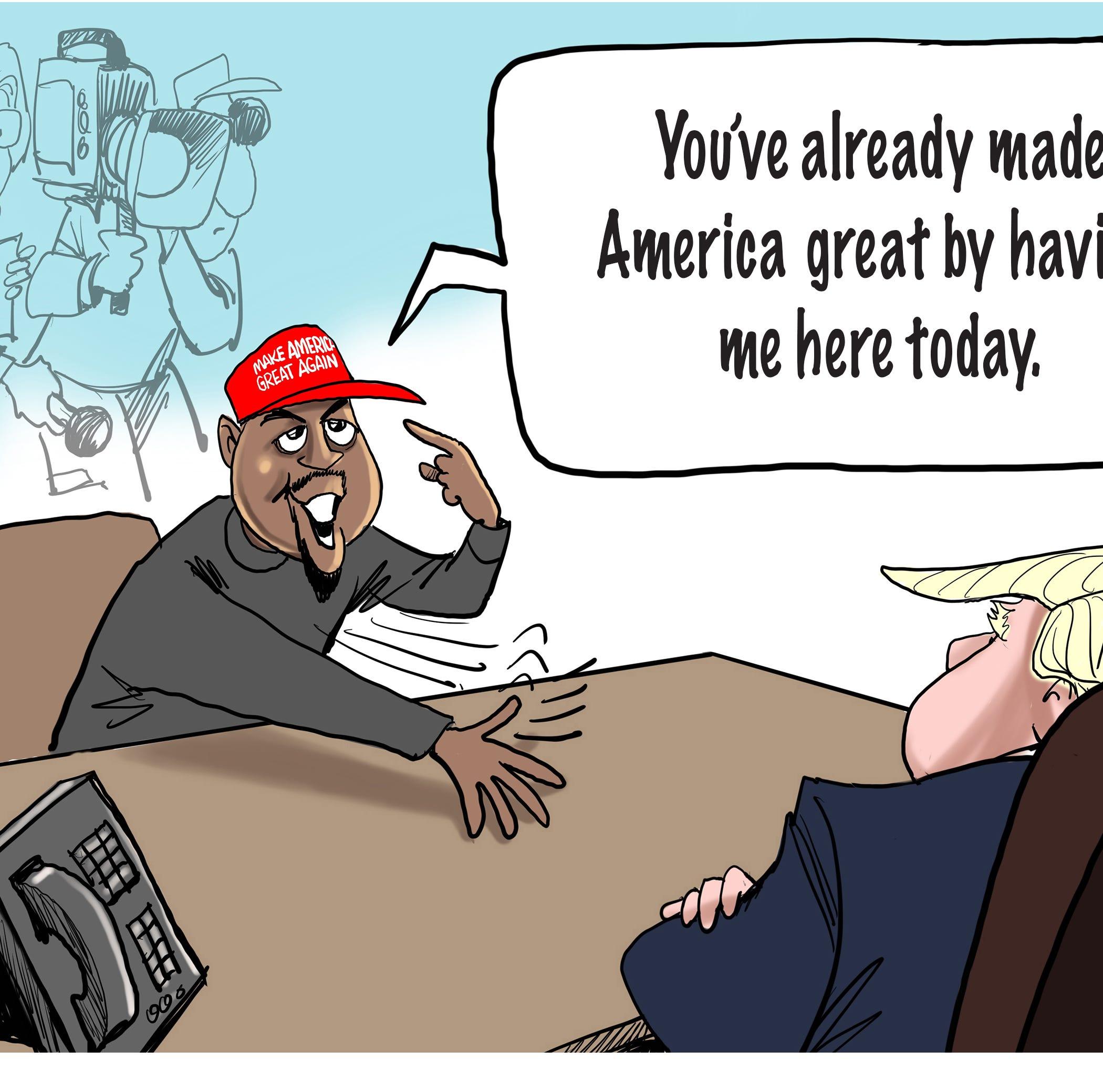 Cartoonist Gary Varvel: Caption this cartoon winners