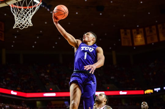 Desmond Bane is TCU's leading returning scorer off last year's roster.