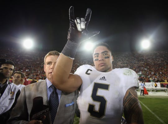 Manti Te'o finished runner-up for the 2012 Heisman Trophy and helped lead the Irish to the BCS title game.