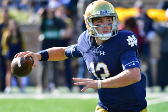 Notre Dame's offense has gone to a new level with Ian Book under center.