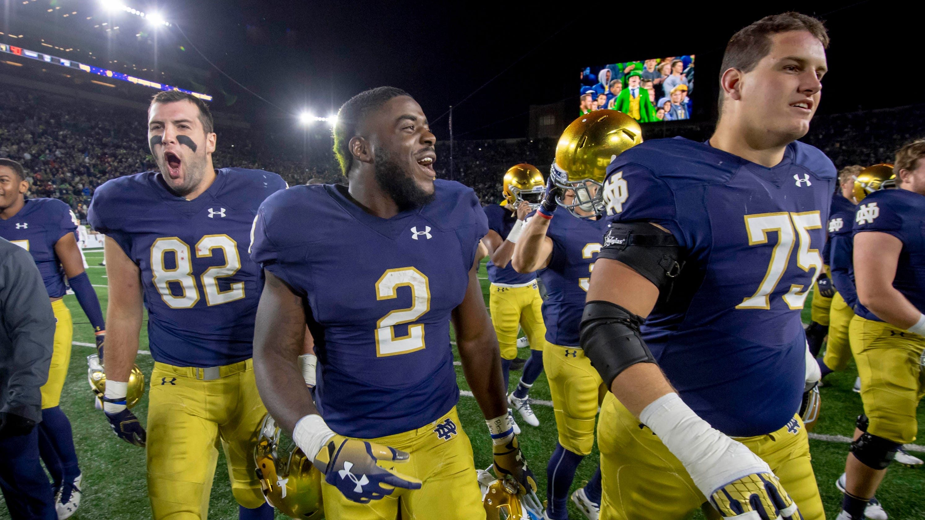 a1f8bb54a Notre Dame football path to CFB playoff stirs up echoes of 2012 run