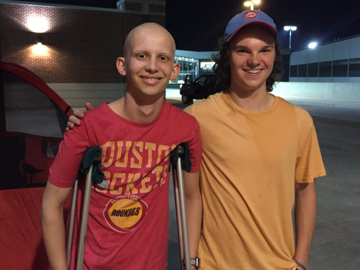 Tyler Trent's story: You should know about this Purdue cancer fighter