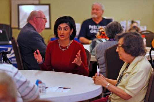 Cms Chief Seema Verma Talks About Medicare With Local Seniors