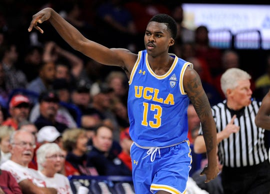 UCLA guard Kris Wilkes is back for his sophomore season.