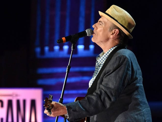 Singer-songwriter John Hiatt is pictured during the 2015 Americana Music Association Honors and Awards Show in Nashville, Tennessee.