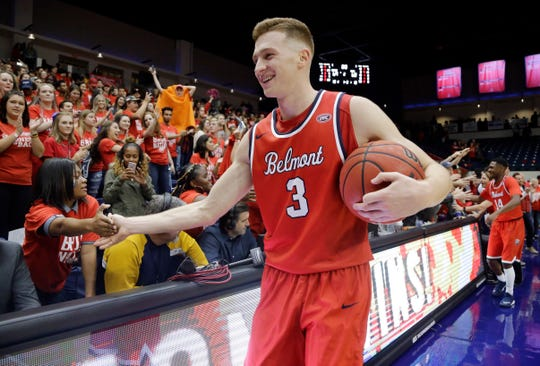 Belmont forward Dylan Windler is the OVC Preseason Player of the Year.