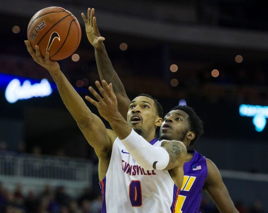Ryan Taylor transferred from Evansville to Northwestern this offseason.