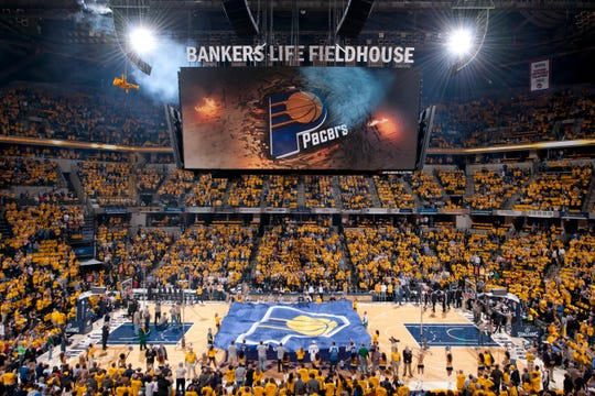 An inside look at Bankers Life Fieldhouse