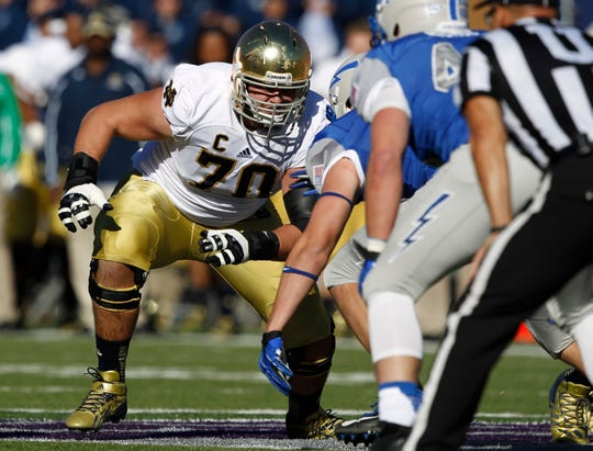A fixture on the Fighting Irish offensive line, Zack Martin has become a perennial Pro Bowler for the Cowboys.