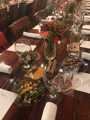 """West TN area American Heart Association thanks supporters Oct. 19 during """"Feast In the Field"""" at the Farm at Casey Jones Village."""