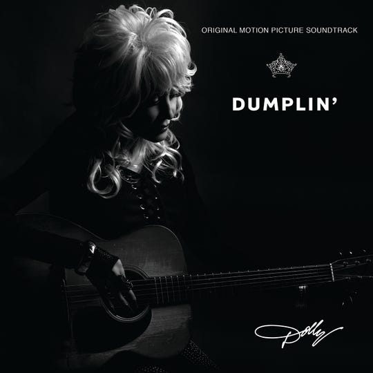 "The cover for the ""Dumplin'"" sountrack, which will release Nov. 30 and features songs written and performed by Dolly Parton and others."