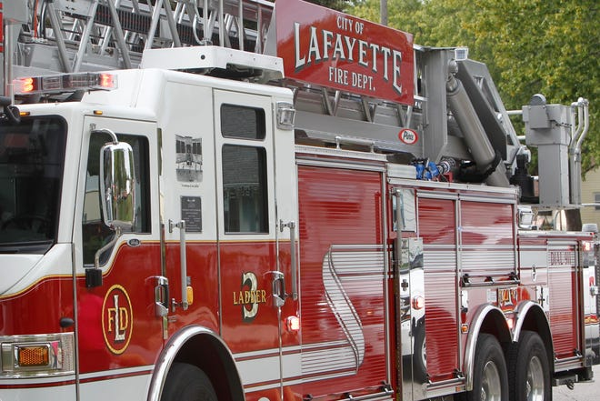 Dispatch sent Lafayette firefighters to Sunnyside Intermediate School Friday morning after a boy nearly started a fire in the bathroom.