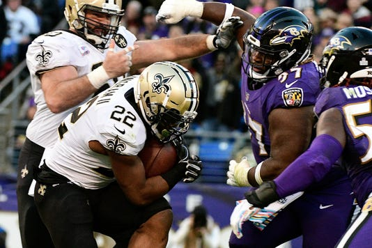Nfl New Orleans Saints At Baltimore Ravens