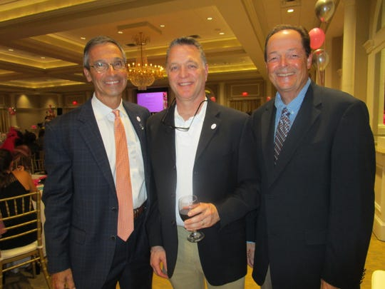 Fred Mills, Ron Ohlmeyer and Adam Champagne