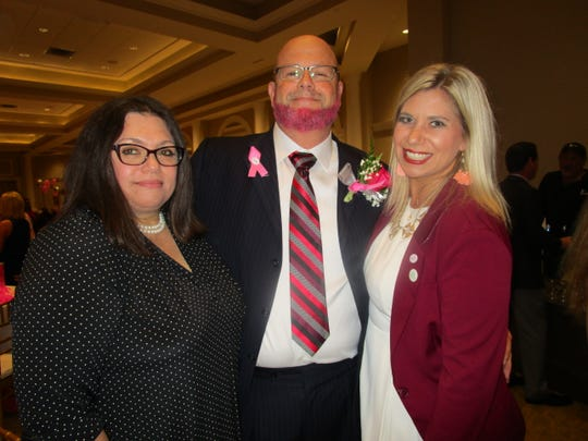 Kim Arguelles, Robert Moore and Jessica Forestier