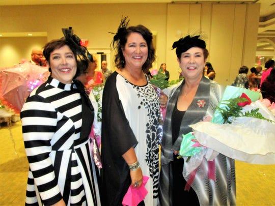 Melissa Brasseaux, Adele Huval and Angela Broussard