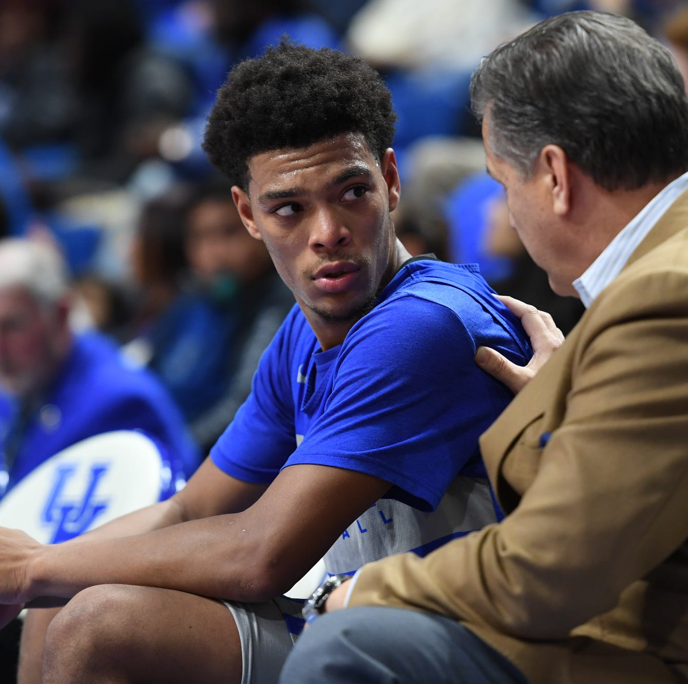 John Calipari after Quade Green transfer: 'I'm not panicked'