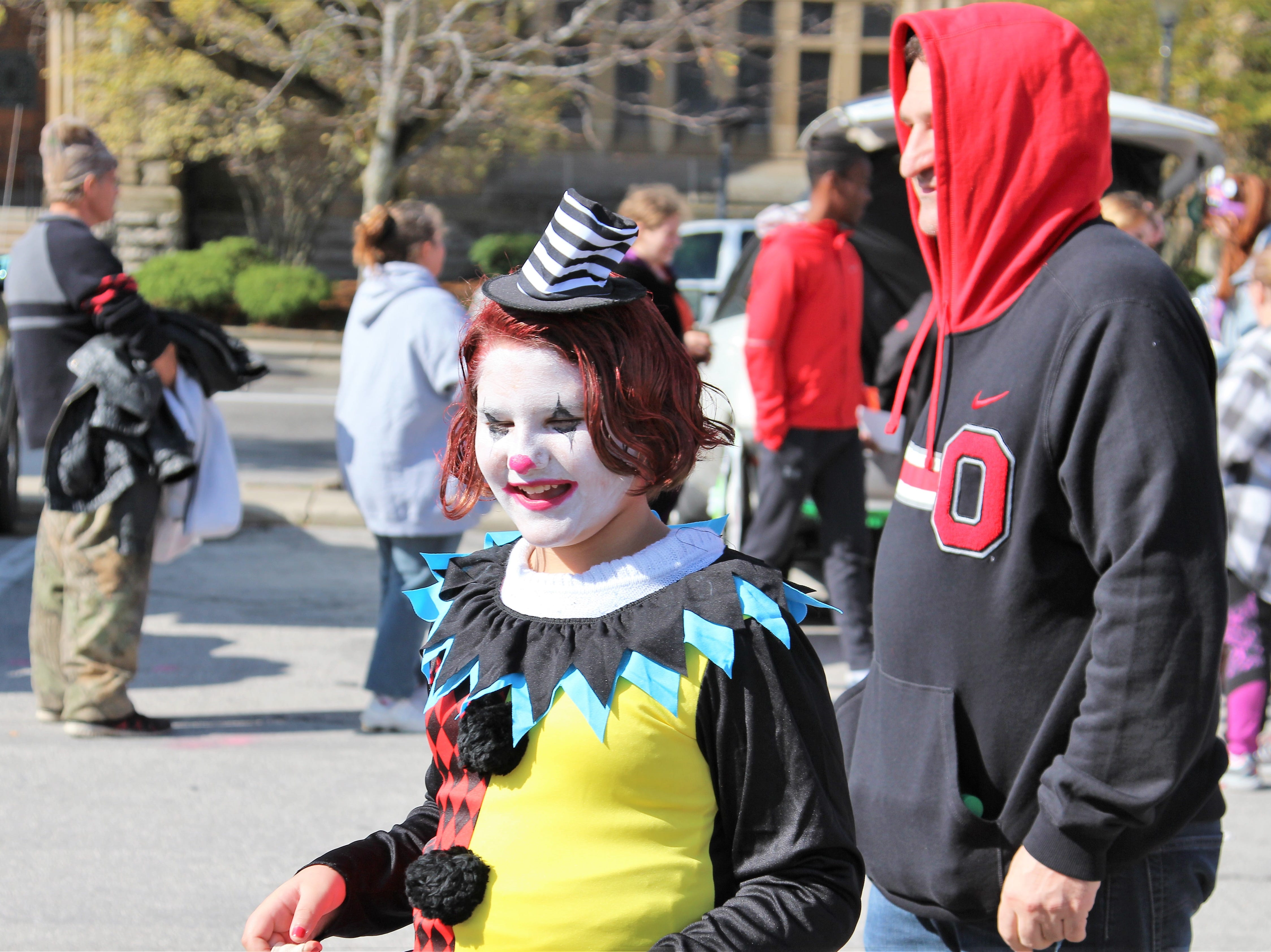 Marion families flocked to downtown on Saturday to collect candy from local businesses, organizations and governmental offices.