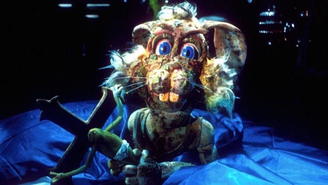 "Years before ""Lord of the Rings,"" Peter Jackson directed ""Meet the Feebles,"" a lewd and gruesome puppet movie that screens Friday during the Cinematic Panic film festival."