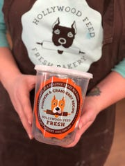 Even your pup needs a pumpkin treat:  Hollywood Feed Fresh Bakery makes pumpkin-cranberry treats for dogs.