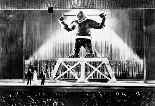 """The Eighth Wonder of the World, """"King Kong,"""" returns Friday night to the appropriately giant-sized screen at the Pink Palace."""